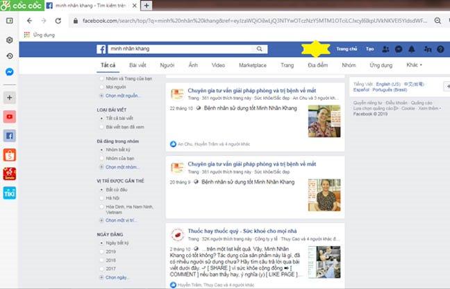 Minh Nhãn Khang có tốt không? Đáp án khi tra thông tin qua Facebook